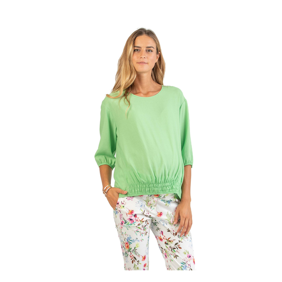 Mums & Bumps Attesa 3/4 Sleeve Maternity Blouse with Elastic Band