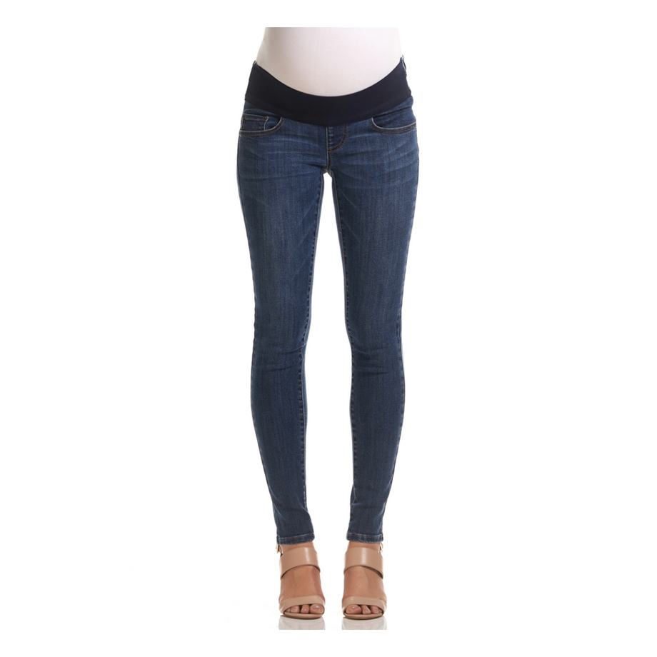 Mums & Bumps Soon Axel Maternity Jeans Mid Blue