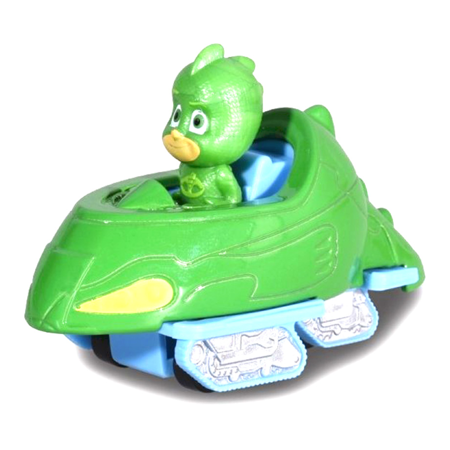 Dickie Pj Masks Single Pack Gekko Vehicle Green