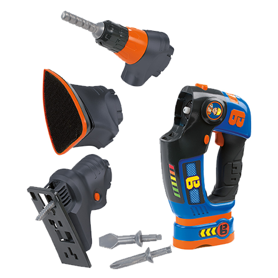 Smoby Bob The Builder 3 In 1 Multi Tool Toy