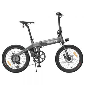 HIMO Z20 Folding Electric Bicycle 20 Inch Tire 250W DC Motor Up To 80km Range  Removable Battery Shimano 6-speed Transmission Smart Display Dual Disc Brake CN Version - Gray