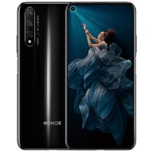 HUAWEI Honor 20 CN Version 6.26 Inch 4G LTE Smartphone Kirin 980 8GB 256GB 48.0MP + 16.0MP + 2.0MP Triple Rear Cameras Android 9 Fast Charging Side-mounted Fingerprint - Black