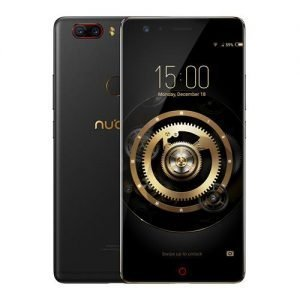 ZTE Nubia Z17 Lite 5.5 Inch Smartphone 6GB 64GB 13.0MP Dual Rear Camera Snapdragon 653 Octa Core Android 7.1 NFC QC3.0 Metal Body  - Black Gold
