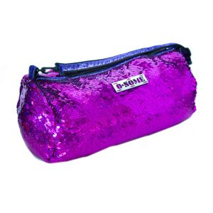 O.SOME Small Duffle - Fuscia Mirror