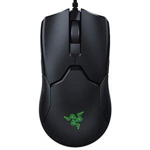 Razer Viper Ultralight Ambidextrous Wired Gaming Mouse 16000 DPI 8 Programmable Buttons - Black