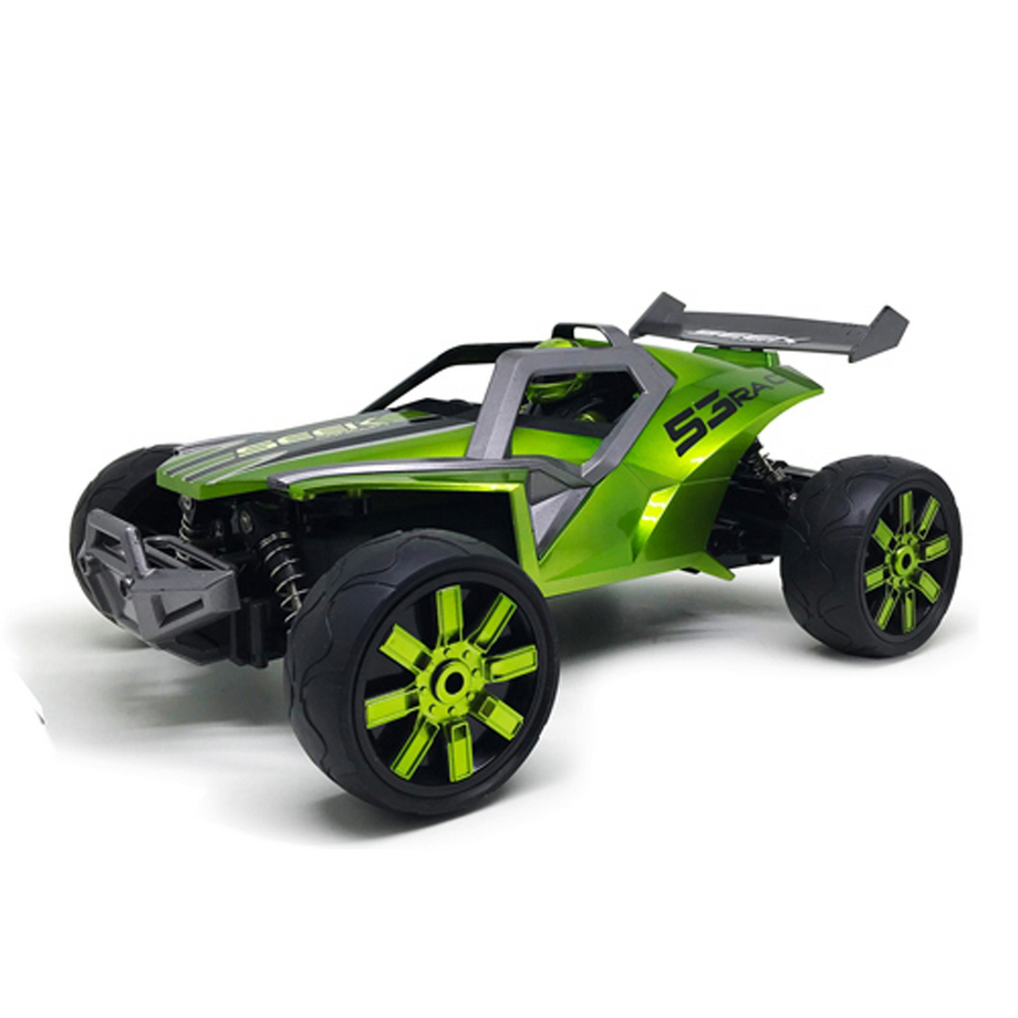 Sinovan 1:12; 4Ch 2.4Ghz Rc Speed Seek Concept Car- Flourescent Green